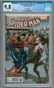 Amazing Spider-man #13 Welcome Home Star Wars Variant CGC 9.8 Marvel comic book